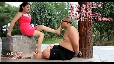 chinese feet slave