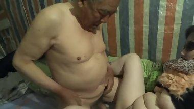 Grandpa Chinese Fucked Old Daddy Porno