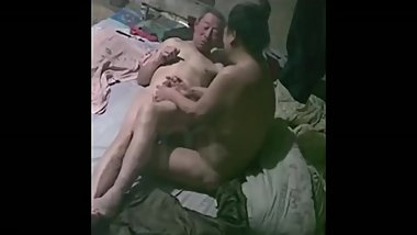 Chinese old couple happy hour in bed (more in my private videos)