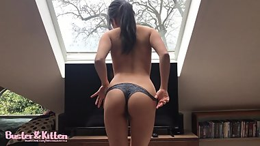 Fun weekend trip with hot Asian GF! -PART 2- Sex in the loft