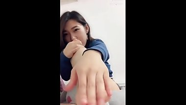 Hot chinese girl's feet