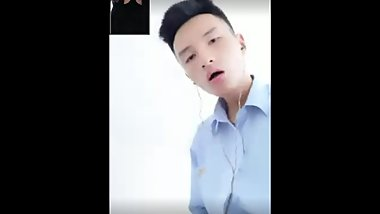 Straight Chinese Guy got tricked and Spy Cam 激射 - 7