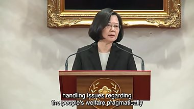 TAIWAN president FUCKED CHINESE XI OVER