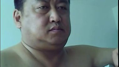 Fat Mature Chinese Chubby Daddy Solo