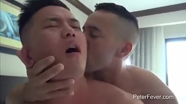 Asian Get Fucked For The Very First Time By His Teacher