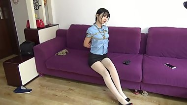 Asian Bondage Police Cosplay