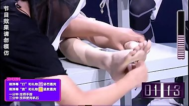 chinese tickle show