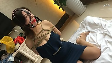 Asian Hotied Gagged