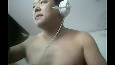 CHINESE DADDY JERK OFF WEBCAM