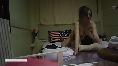 Chinese Amateur vs Hot Busty Ukrainian Whore