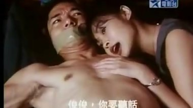 Chinese man tied up in bed by woman