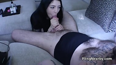 Hot Asian Girl From Tinder Sucking Me Off