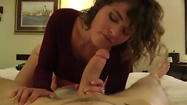 Whore Step Mom catches you jerking off and fucks YOU- bit.do/camgirls666