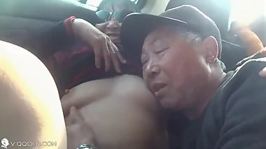 chinese old daddy sex