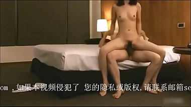 Sexy secretary get climax & creampie by her boss