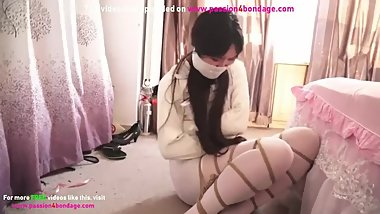 GAGGED AND BOUND CHINESE