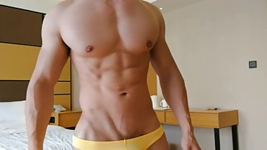 Muscular Chinese Guy