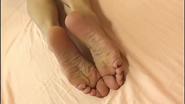 Chinese College Students beauty feet