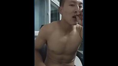 Chinese Fitness Coach Jerking off - Stone Collection 激情语音
