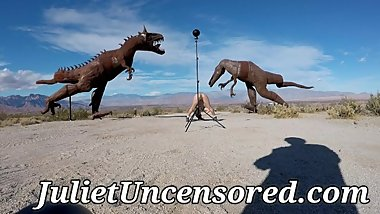 JULIET UNCENSORED BEHIND THE SCENES NUDE PHOTO SHOOT IN THE DESERT