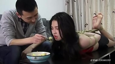 Chinese Hogtied Feeding