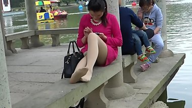 Chinese Candid Nylon and Stinky