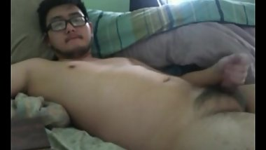taiwanese cute cub jerking off