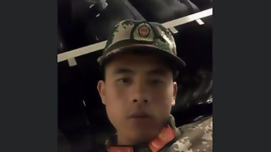 handsome chinese soldier Pt.1