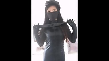 Mask Fetish with Chinese girl on webcam 06