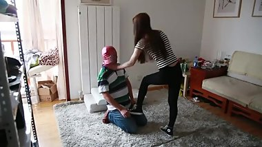 Chinese Femdom (Trample/Ballbusting/Faceslapping)