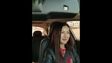 Chinese milf flashing