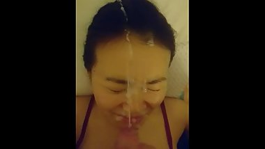 red nightdress facial 2