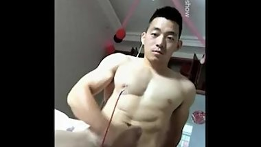 Married Chinese muscle guy 1