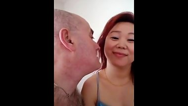 White expat and his Chinese concubine