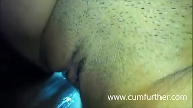 Creamy Tight Chinese Pussy with Black Cock