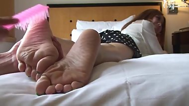 Chinese Girl Got Tickled feet 2