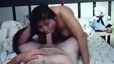 Sloppy afternoon sex from hidden cam with chinese wife. low res, but hot!
