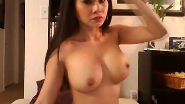 Big-Titted Chinese young woman playthings her moist cooter high definition