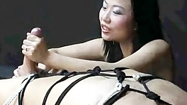 ... If 5 Fingers Don't Get It Done ... It Dont Get Done !!! asian cumshots